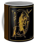 Christian Initial Letter D Coffee Mug