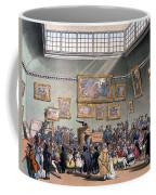 Christies Auction Room, Illustration Coffee Mug