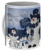 Christmas - Snowmen Collection - Family - Peace - Snow Coffee Mug