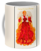 Christmas Angle Card Coffee Mug