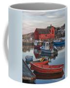 Christmas At Motif1 Rockport Massachusetts Coffee Mug