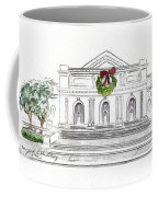 Christmas At The New York Public Library Coffee Mug