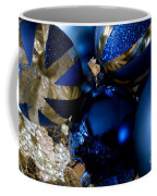 Christmas Blue Coffee Mug