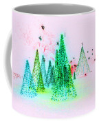 Christmas Blues And Greens Coffee Mug