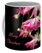 Christmas Cactus Greeting Card Coffee Mug by Carolyn Marshall