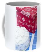Christmas Cake Coffee Mug by Anne Gilbert