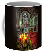 Christmas Candles Coffee Mug by Adrian Evans