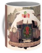 Christmas Car Card Coffee Mug