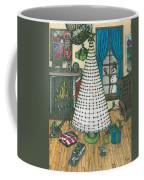 Christmas Card Drawing Coffee Mug