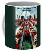 Christmas Card Sunken Garden Coffee Mug