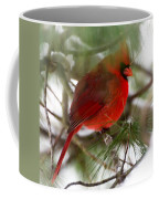 Christmas Cardinal Coffee Mug