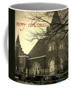 Christmas Chapel Coffee Mug