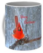 Christmas Red Cardinal Coffee Mug