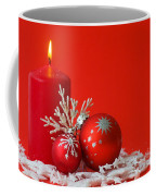 Christmas Decoration Background Coffee Mug