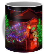Christmas Decorations At Residential Coffee Mug