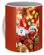 Christmas Dog And Penguin Coffee Mug