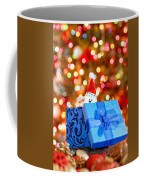 Christmas Dog In Bx Coffee Mug