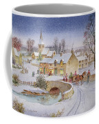 Christmas Eve In The Village  Coffee Mug by Stanley Cooke