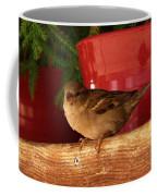Christmas Finch Coffee Mug