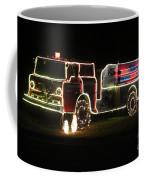Christmas Fire Truck 2 Coffee Mug