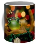Christmas Frog Coffee Mug
