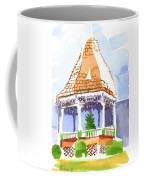 Christmas Gazebo Coffee Mug by Kip DeVore