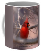Christmas Greetings - Cardinal Coffee Mug