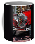 Christmas Grillwork Coffee Mug