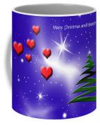 Christmas Hearts Coffee Mug