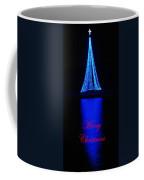 Christmas In Blue Coffee Mug