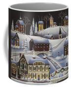 Christmas In Fox Creek Village Coffee Mug