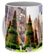 Christmas In New York City Coffee Mug