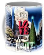 Christmas In Philadelphia Coffee Mug by Bill Cannon