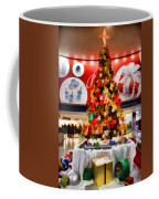 Christmas In The Train Station Coffee Mug