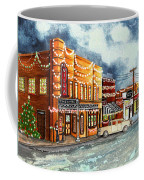 Christmas In Villa Rica 1950's Coffee Mug