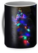 Christmas Lights Under Snow Coffee Mug