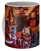 Christmas Luggage Color Coffee Mug