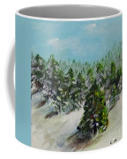 Christmas Mountain Coffee Mug