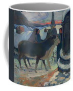 Christmas Night Blessing Of The Oxen Coffee Mug