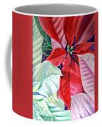 Christmas Poinsettia Coffee Mug