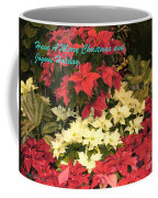 Christmas Poinsettias  Coffee Mug