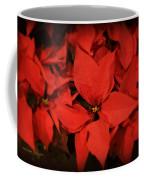 Christmas Poinsettias Coffee Mug