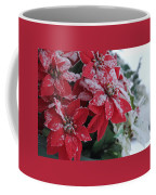 Christmas Poinsettia Flowers Coffee Mug