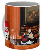 Christmas - Snowmen Collection- Fireplace Coffee Mug