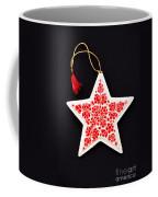 Christmas Star Coffee Mug by Anne Gilbert