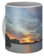 Christmas Sunset 3 Coffee Mug