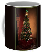 Red And Gold Christmas Tree Without Caption Coffee Mug