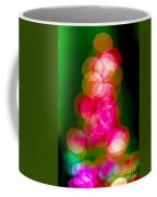 Christmas Tree Bokeh Background Coffee Mug