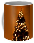 Christmas Tree Bokeh Coffee Mug