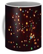 Christmas Tree Lights Coffee Mug